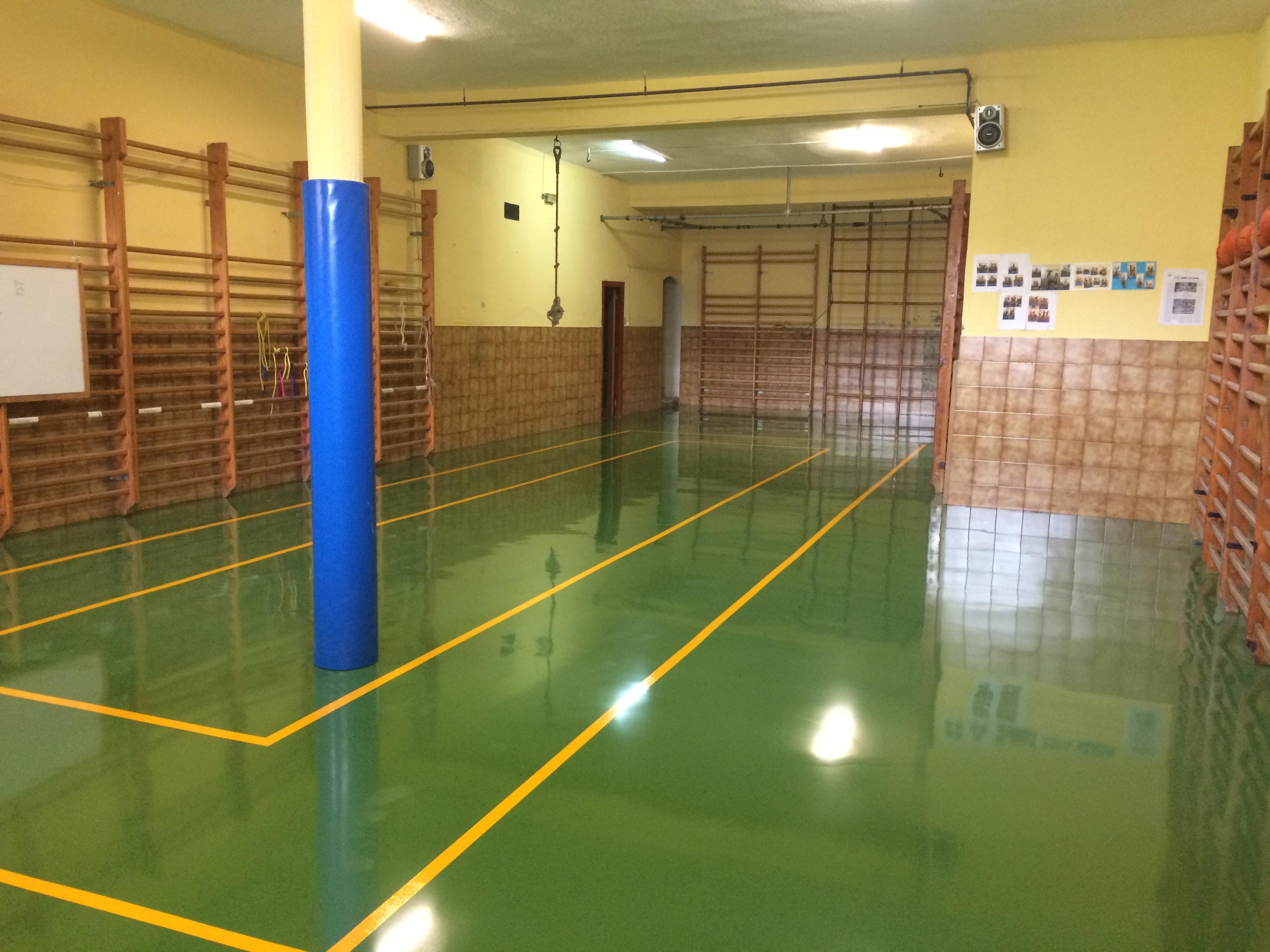 Gimnasio en CP A Casona, Cangas Narcea, 2016