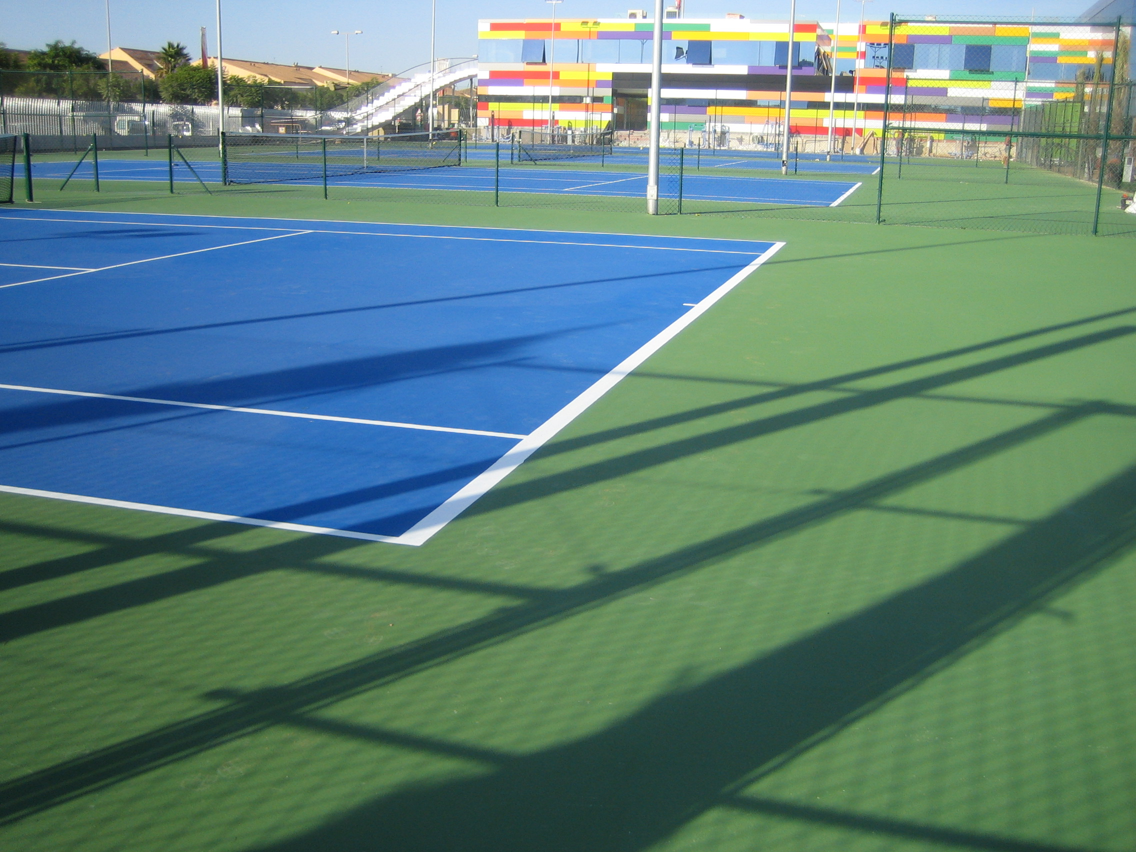 TENIS CUSHION, ARENA, ALICANTE, 2008